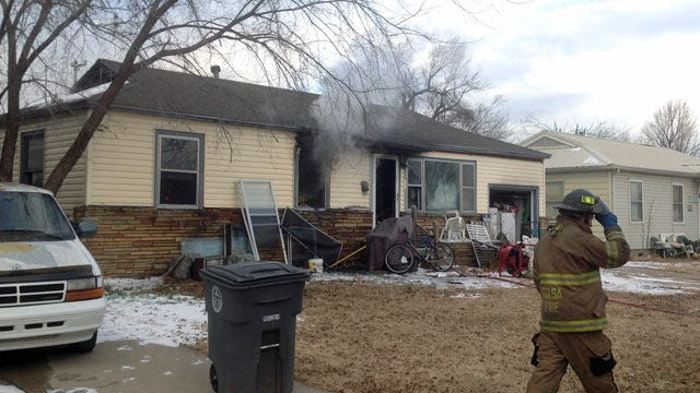 No Injuries In North Tulsa House Fire