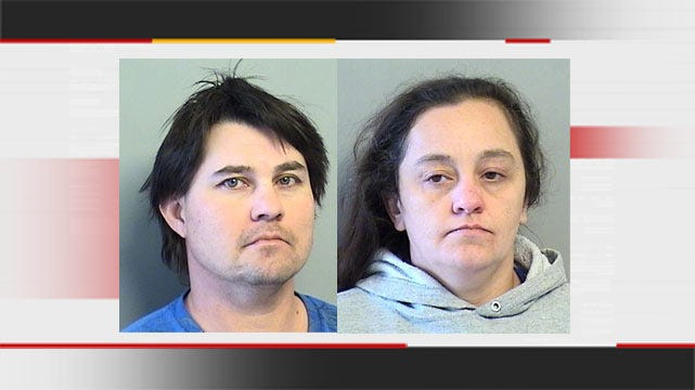 Police: Glenpool Couple Made Meth While Kids Were In Home