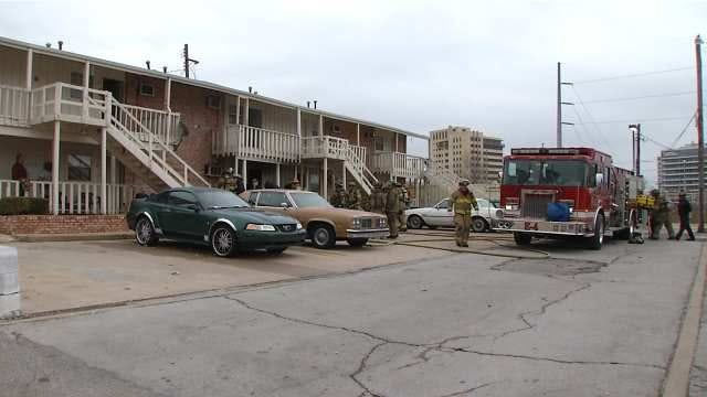 Tulsa Man Suffers Burns After Being Caught On Fire In Apartment