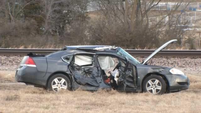 Two Critically Injured In Tulsa Car Crash
