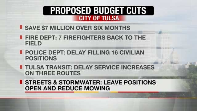 City Of Tulsa Administration Reveals Plan To Cut Spending