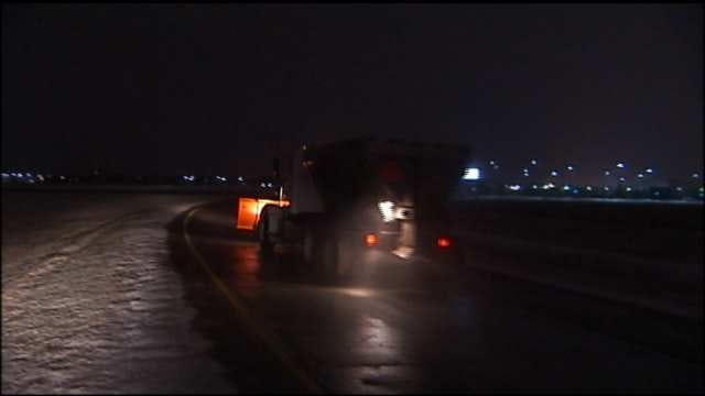 Fog, Icy Roads Cause Problems For Drivers Across Eastern Oklahoma