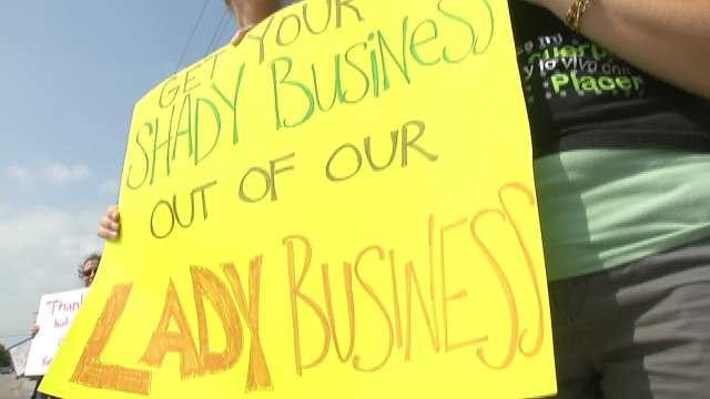 Tulsa Protestors Rally Against Hobby Lobby, Supreme Court Decision