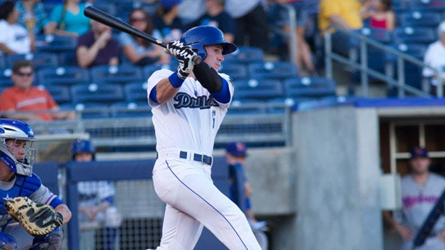 Massey's Home Run Propels Drillers To Win