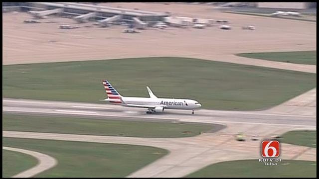 American Airlines Jet With Mechanical Problems Lands Safely In Tulsa