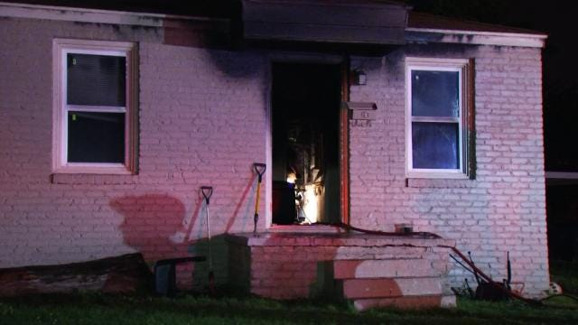 Tulsa Fire Investigators Think Woman Set Her House On Fire