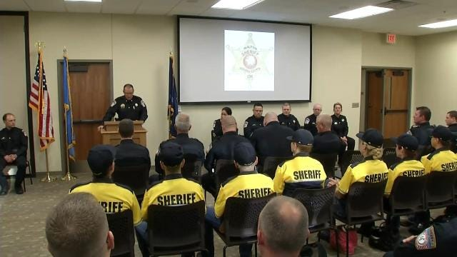 Rogers County Sheriff's Office Welcomes 11 New Volunteers