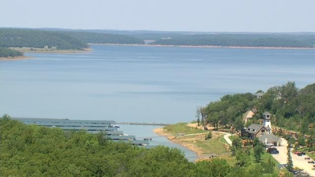 Skiatook Lake Goers Hope Forecasted Rain Raises Low Water Level
