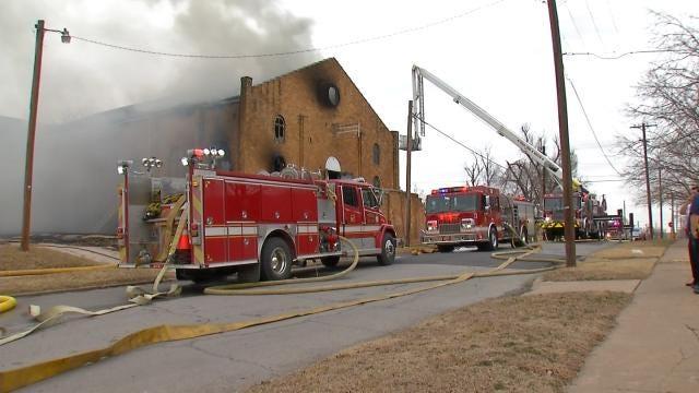 Burned, Abandoned Tulsa Church Gives Land To Habitat For Humanity