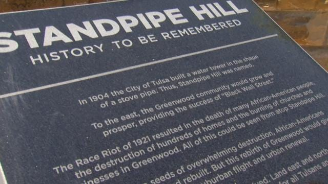 New Historical Marker Cites Role Standpipe Hill Played In Race Riot