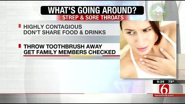 What's Going Around: Strep, Sore Throats And Lice