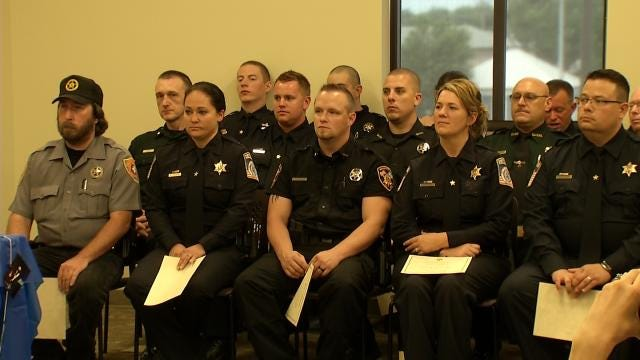 Claremore Holds First Ever CLEET-Coordinated Reserve Officer Academy
