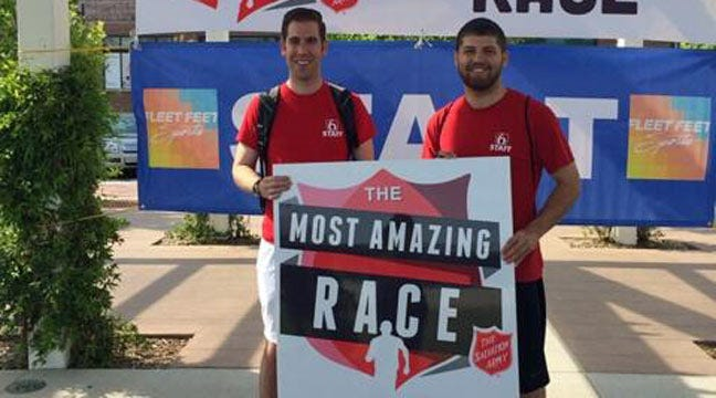 'Most Amazing Race' Raises Money For Tulsa Salvation Army Homeless Shelter