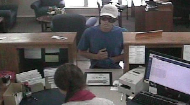 Sand Springs Police Release Photos Of BancFirst Robber