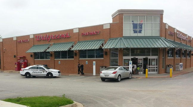 Tulsa Police Respond To Report Of Walgreens Robbery