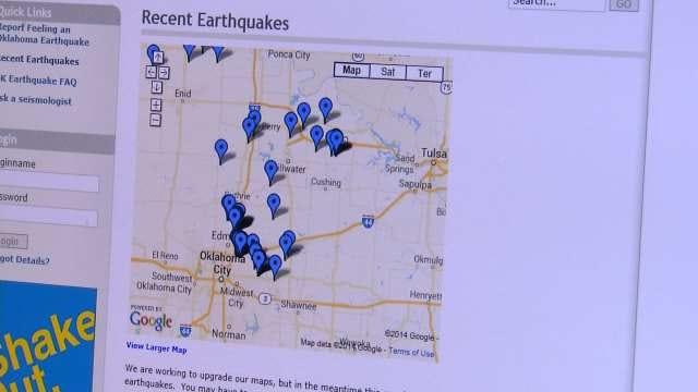 Oklahomans 200 Miles Away Feel Recent Earthquakes