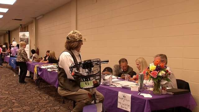 Oklahomans Make Stand Against Elder Abuse At Tulsa Crime Prevention Event