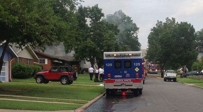 Mother, Daughters Rescued In Midtown Tulsa House Fire