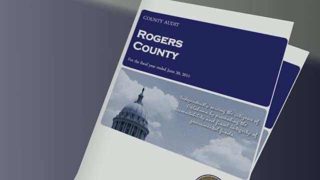 New Rogers County Audit Shows Misused Funds, Uncollected Taxes