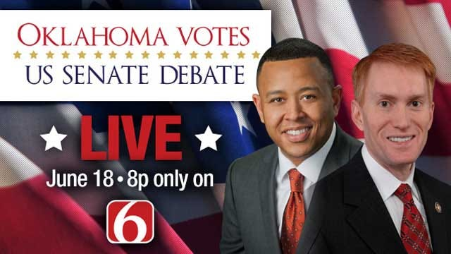 News On 6 Hosts Debate Between James Lankford And T.W. Shannon