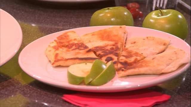 Kid Treats: Ham Pinwheels And Apple Quesadillas