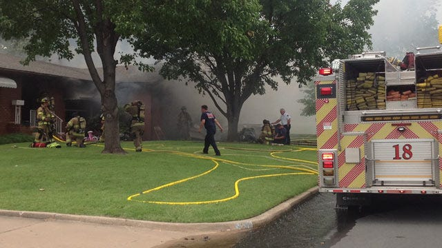 Tulsa House Fire Blamed On Juvenile