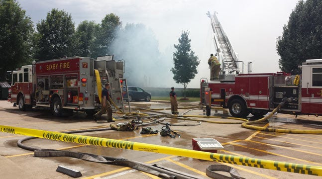 Apartments Not Affected By Bixby Golf Course Fire