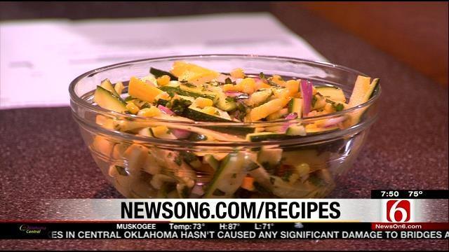 Garden Salad With Citrus Vinaigrette