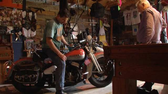 Oklahomans Celebrate 50th By Taking Classic Bikes To Sturgis