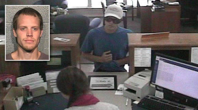 Sand Springs Police Say Tip Leads To Arrest Of Bank Robbery Suspect