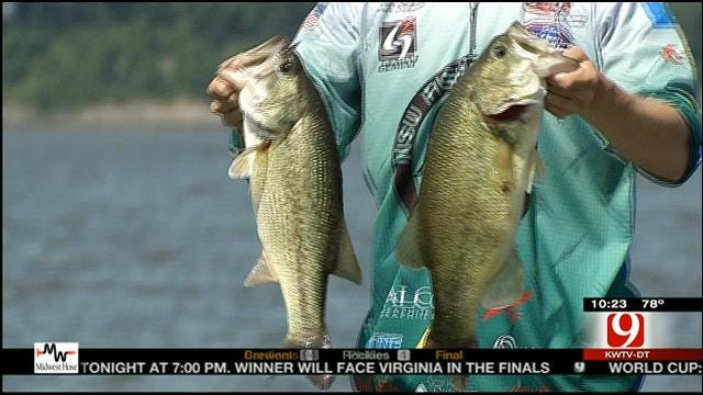Oklahoma Fishermen Looking For The Big One