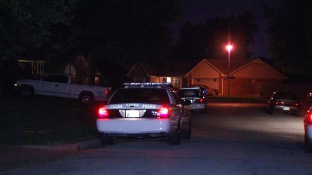 Police: Five Armed Men Invade East Tulsa Home