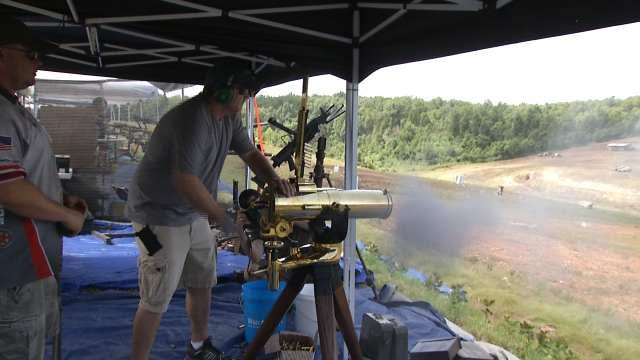 Wyandotte Event Allows People To Test Exotic, Fully Automatic Weapons