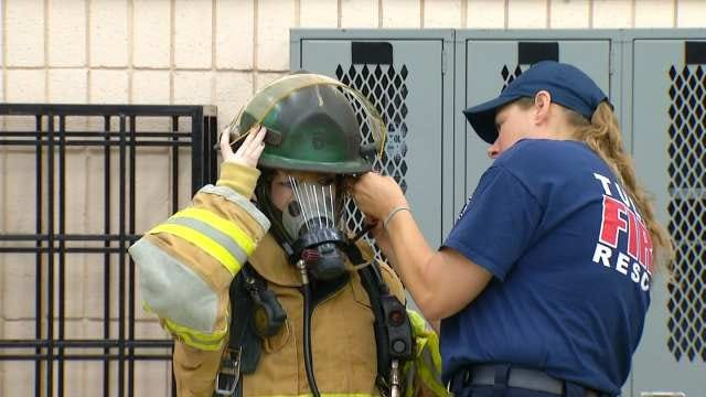 Tulsa Fire Department Holds First Skills Camp For Young Women