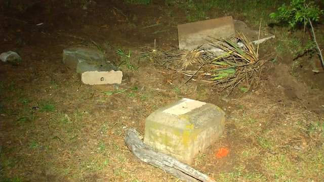 Headstones Damaged In Rogers County Cemetery Crash