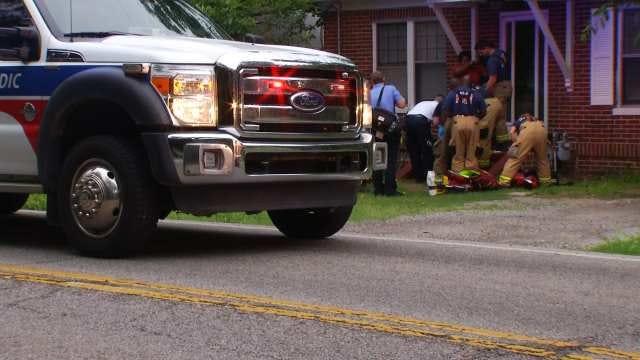 Man Shot In Shoulder Outside West Tulsa Apartment