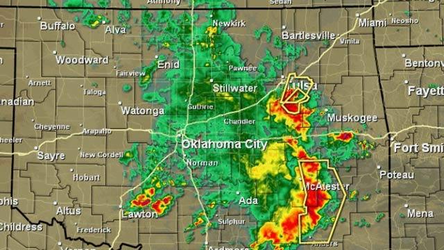 More Thunderstorms, Rain For Northeast Oklahoma