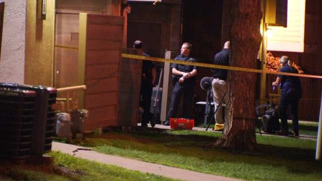Masked Suspects Run From Scene Of Tulsa Shooting Death