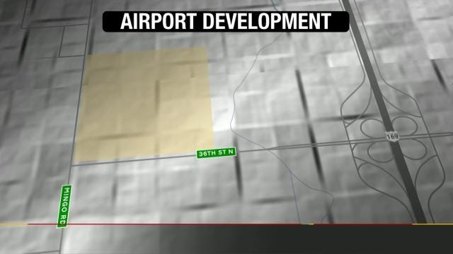 Tulsa Airport Using Idle Land To Build Manufacturing Sites