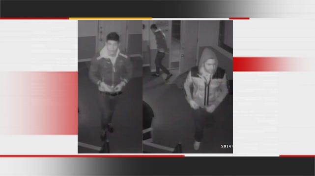 Tulsa Police Seek Apartment Complex Burglary Suspects
