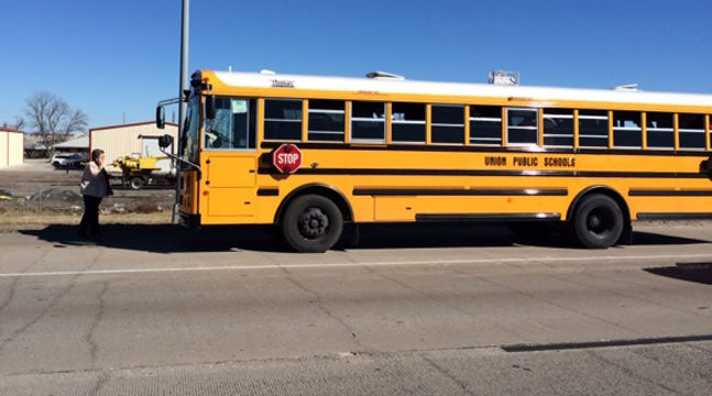 No Injuries Reported In Union School Bus Wreck