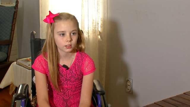 Tulsa Business Helps Raise Money For Jenks Cheerleader