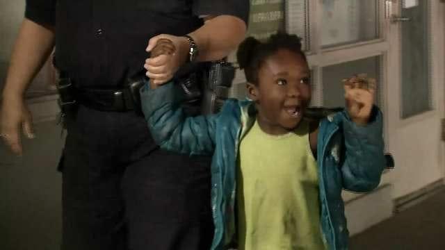 Tulsa Police: Amber Alert Canceled, Four-Year-Old Girl Found Safe
