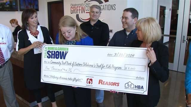 Tulsa's Food For Kids Receive $10,000 Donation