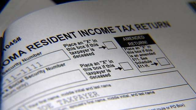 Many Oklahomans Waiting For State Tax Return