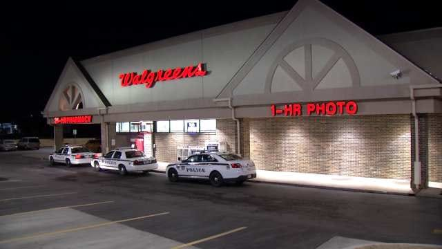 Tulsa Police Search For Walgreens Drug Store Robber