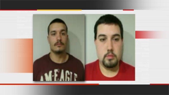 Two Okay Men Arrested For Theft Of School Air Conditioners, Church Keyboard