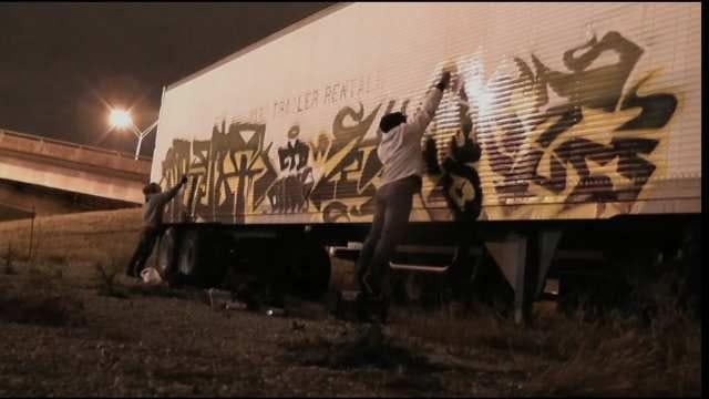 Nationwide Graffiti Ring Leaves Its Mark On Tulsa