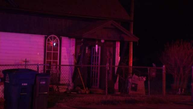 Small Fire Damages North Tulsa Home