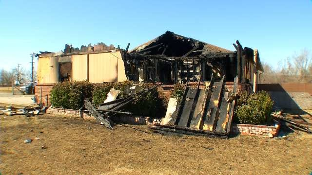 Investigator Says Arsonist To Blame For North Tulsa House Fire